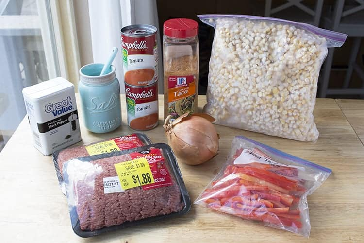 freezer meal recipe chili