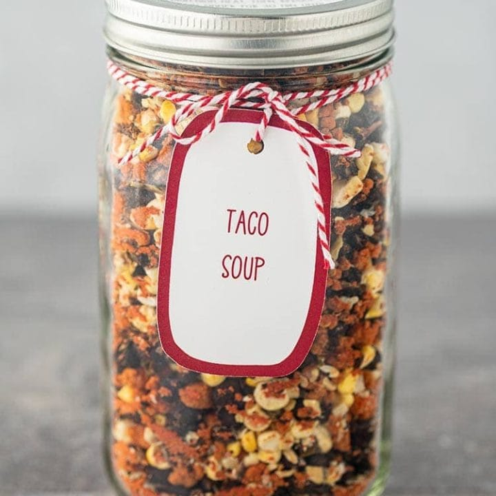 Taco Soup in a Jar