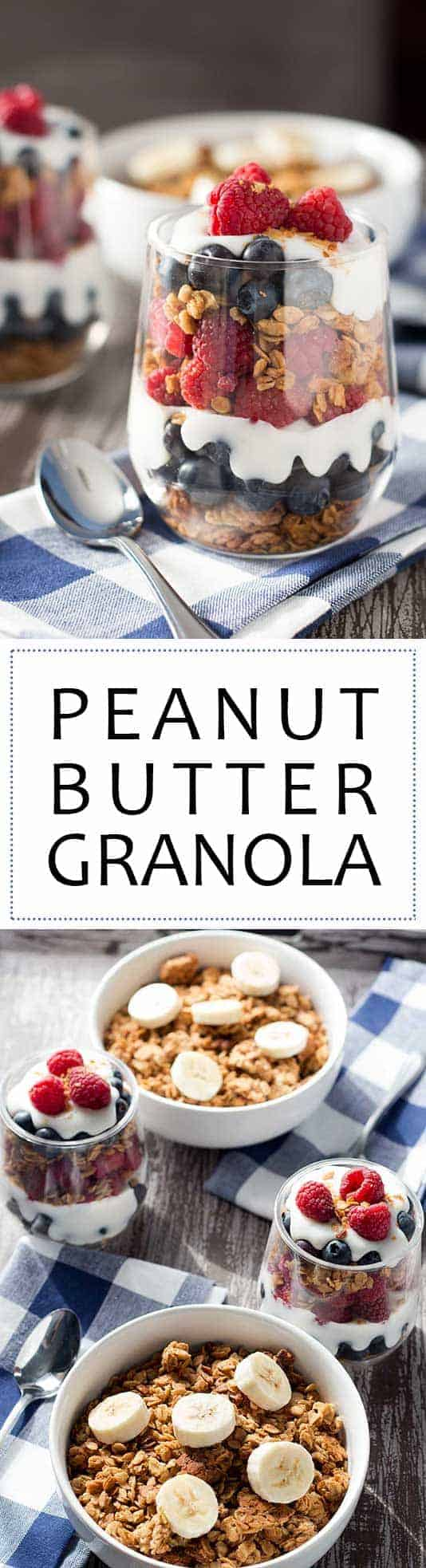 Easy Peanut Butter Granola Pin