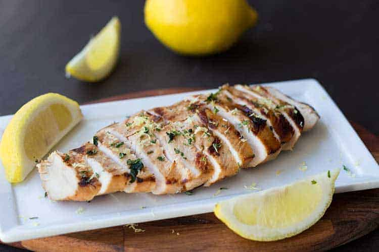 Lemonade Chicken with Lemon Juice