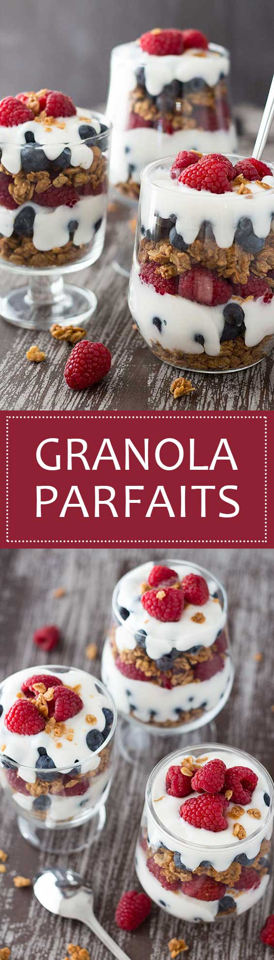 Easy Granola Parfaits Longpin