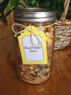 Meal in a Jar: Hamburger Stew