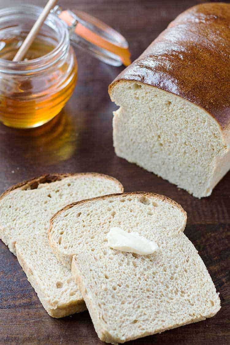 Honey Wheat Bread Rounded