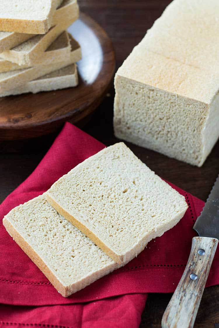 Wheat Bread Square Pan