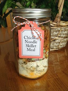 Meal in a Jar: Chicken Noodle Skillet Meal
