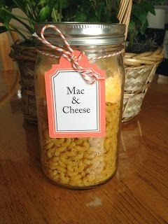Meal in a Jar: Mac & Cheese | A great quick and easy comfort food to keep on hand for emergencies or for a quick-to-fix meal for a busy night!