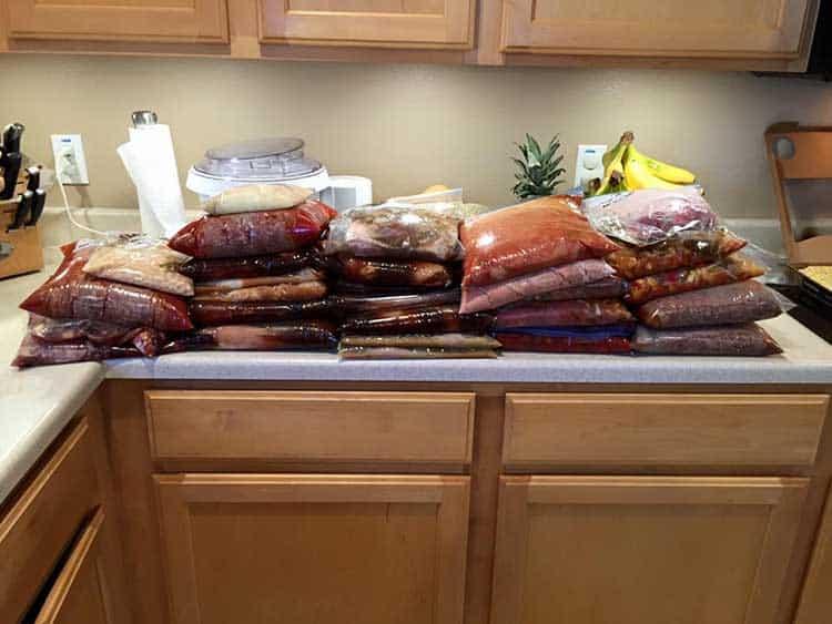 Freezer Cooking Dump Meals