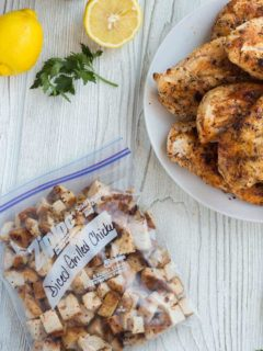 Grilled Chicken Bagged
