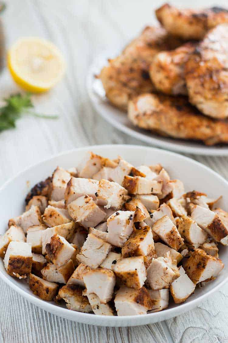 Grilled Chicken Diced