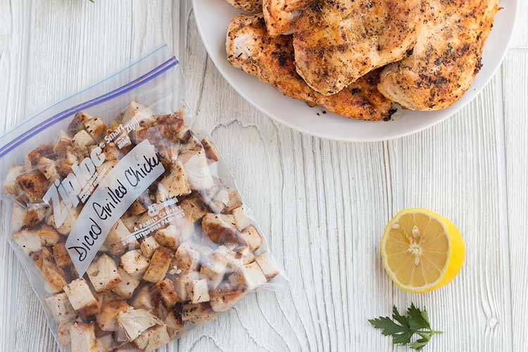 Freezer Staples: Grilled Chicken