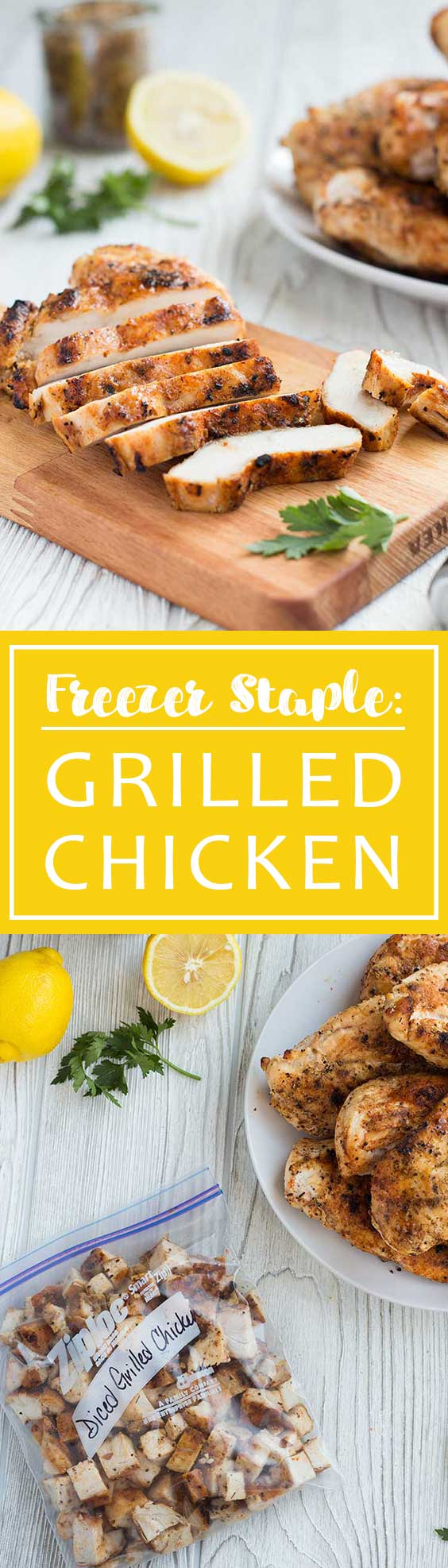 Grilled Chicken Pinterest Pin