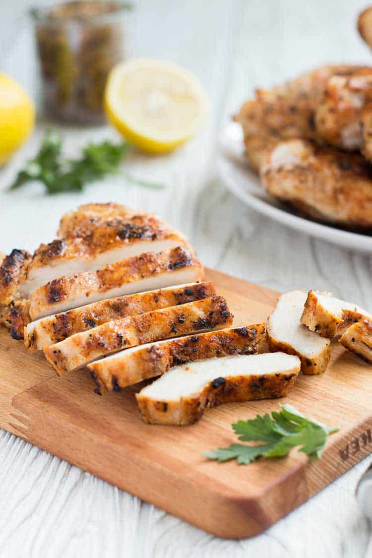 Grilled Chicken Sliced