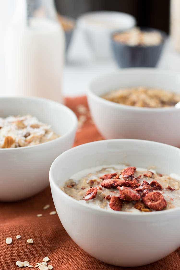 Instant Oatmeal Varieties
