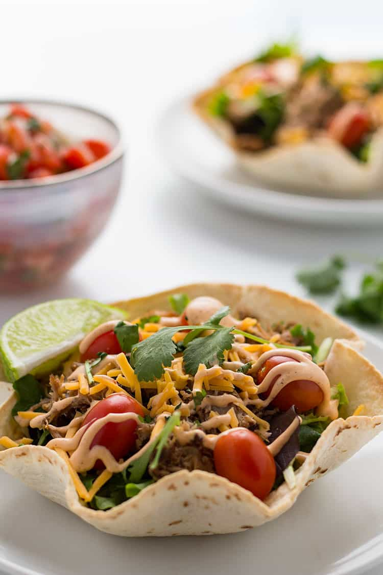 Mexican Pulled Pork Carnitas used in salads