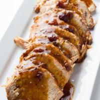 Spiced Cranberry Pork Roast
