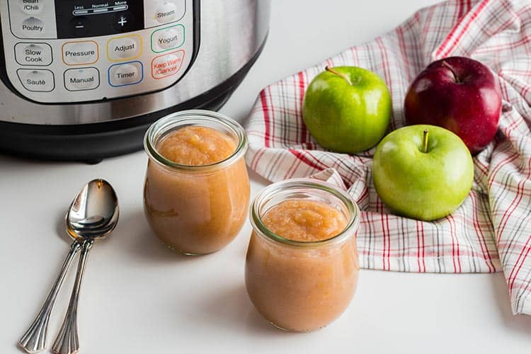 Easy Instant Pot Applesauce