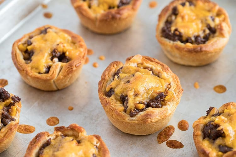 Beefy Barbecue Biscuit Cups Freezer Meal