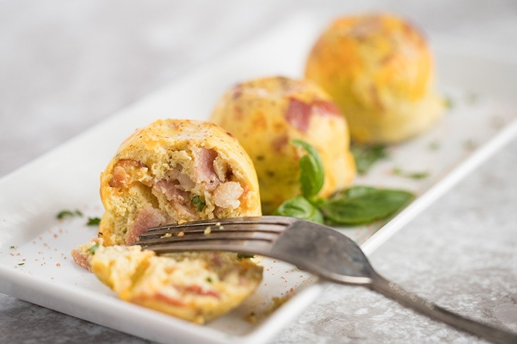 Instant Pot Bacon Cheddar Egg Bites (Keto)