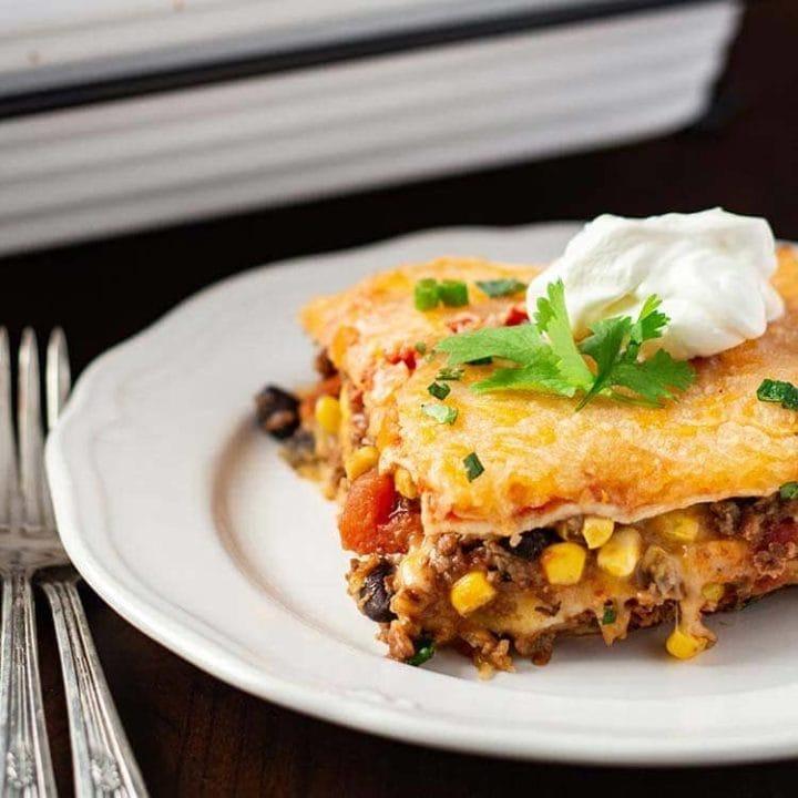 Make-Ahead Mexican Lasagna