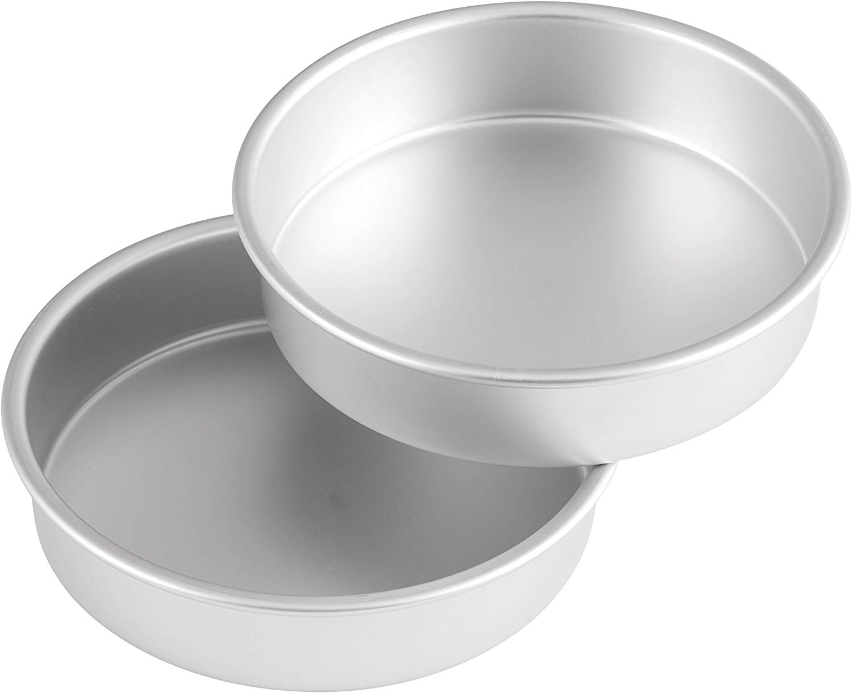 Wilton Performance Aluminum Pan 8-Inch Round Cake Pans, Set of 2