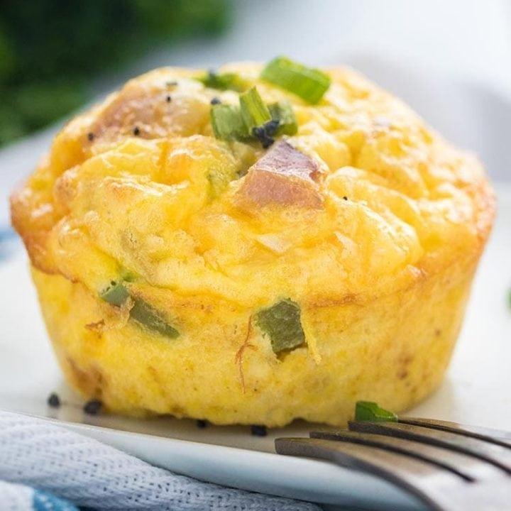 Easy Make-Ahead Denver Omelet Egg Muffins