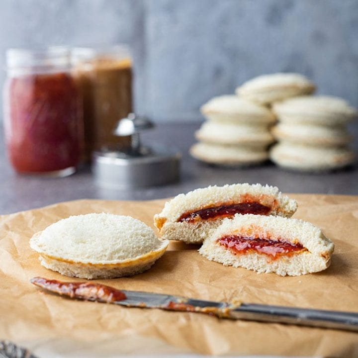 Homemade Uncrustables Sandwiches